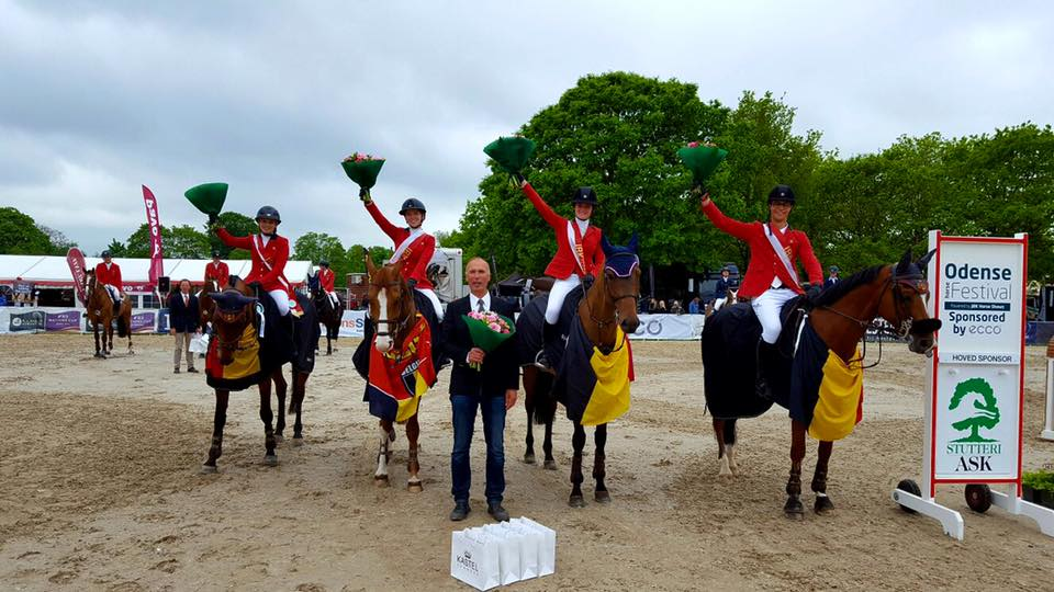 CSIO Odense: 1st Place in Nations Cup!