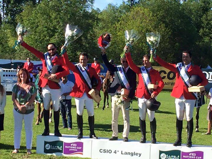 Team Mexico wins Nations Cup CSI4*