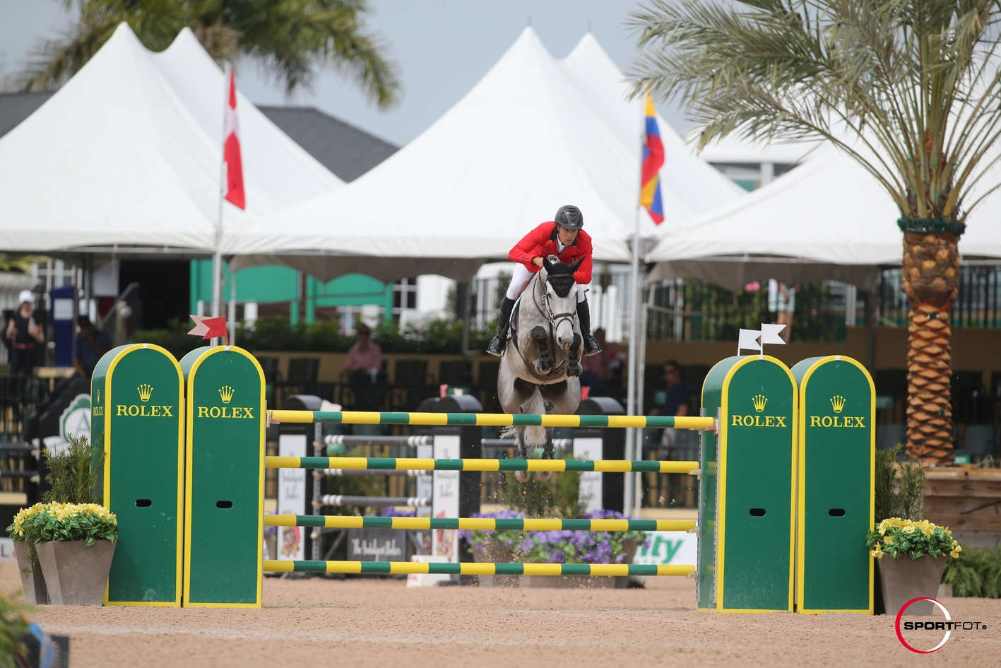 Juan and Tino La Chapelle 10th in WEF Grand Prix