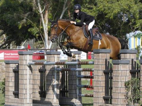 Delphine and Clint Cristo triumph at Blenheim Equestrian