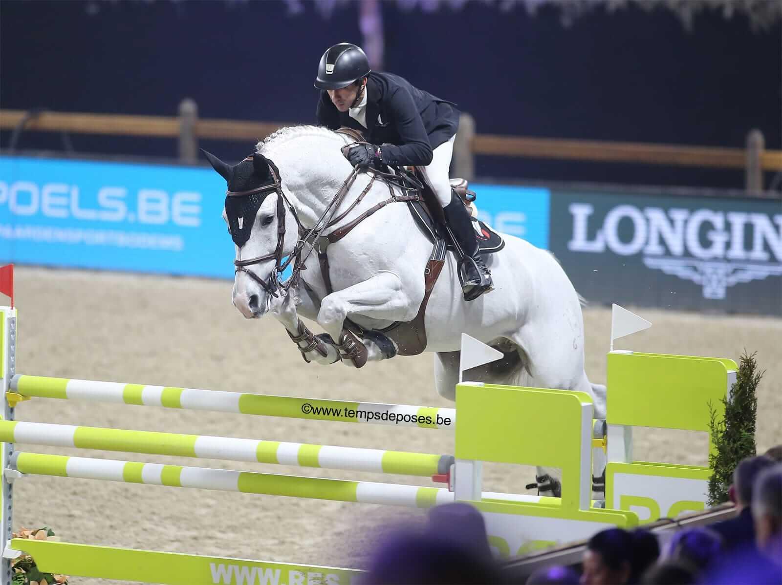 ALICANTE 5th in 150 CSIW5* Mechelen!