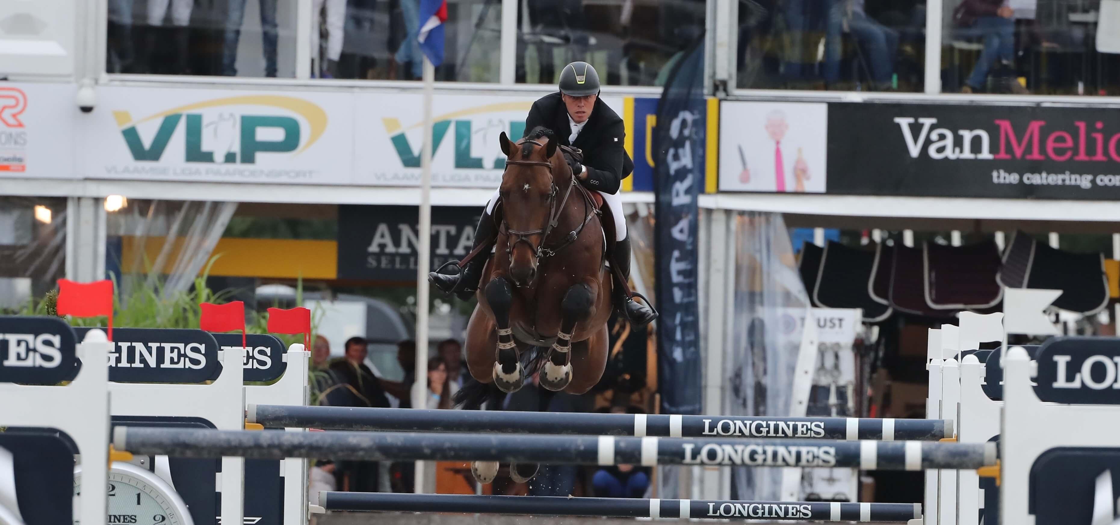 Exquisite start of the Stallions at Jumping Mechelen!