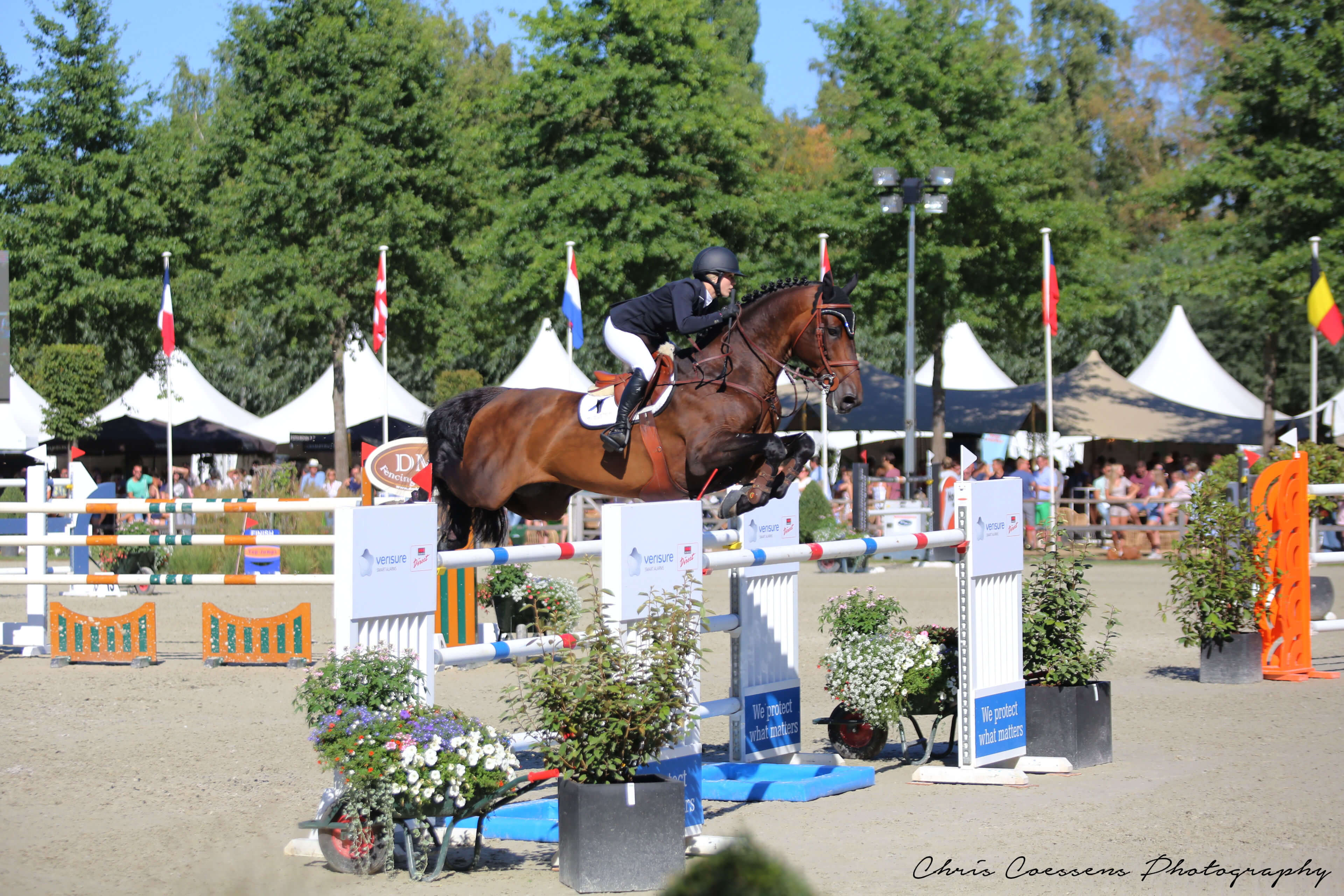 EMIR DE VY clear in 150 LR @ Zandhoven