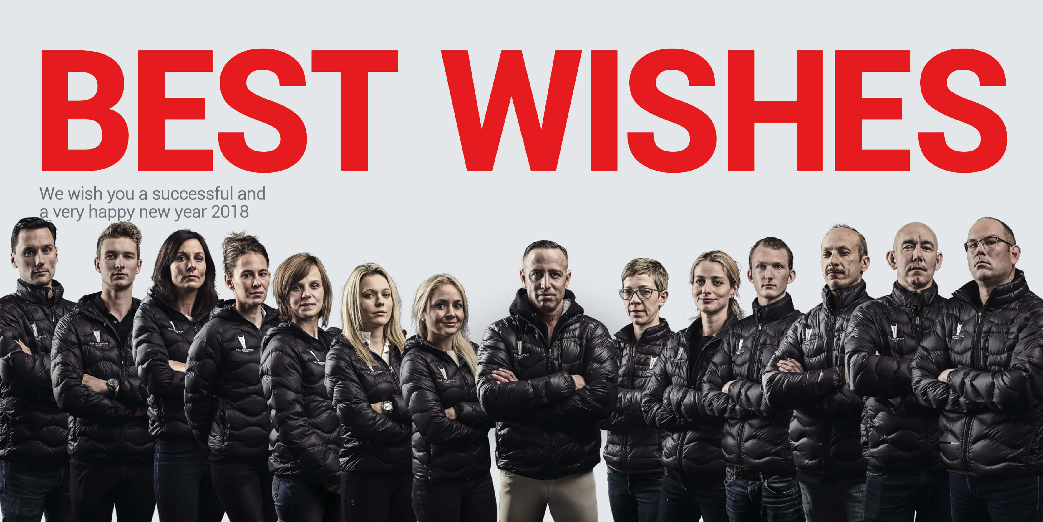 Tal Milstein Stables team wishes you a very happy New Year!