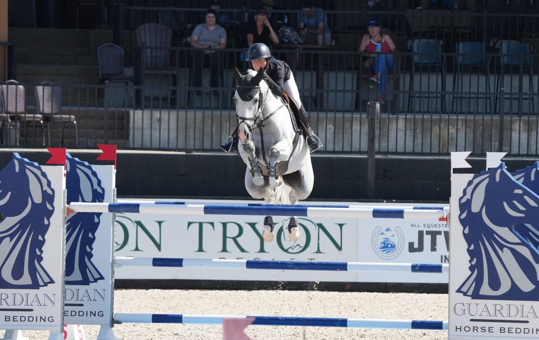 4th place for Guess What and Taylor St. Jacques at Tryon Resort!
