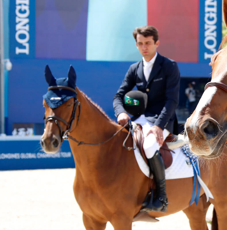 3rd place for HANDY VAN HD at LGCT Shanghai
