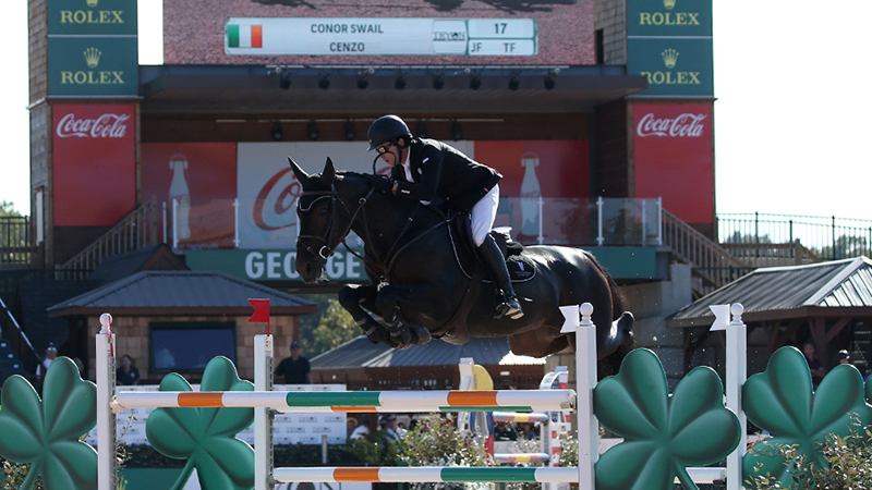 Cenzo wins CSI5* Tryon
