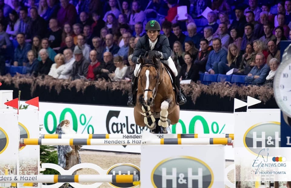 Fantastic day for our Stallions at Jumping Mechelen!
