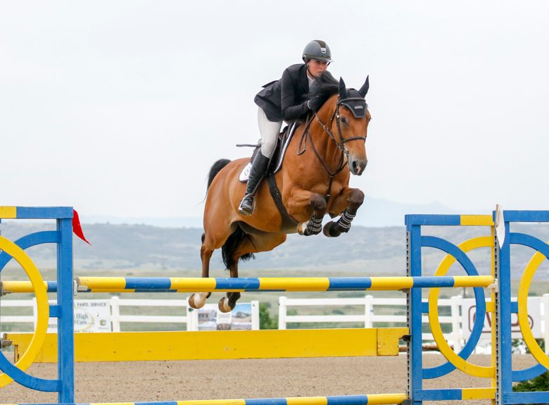 Double clear for Darknight and Hunter Holloway in yesterdays 1.40m Welcome!