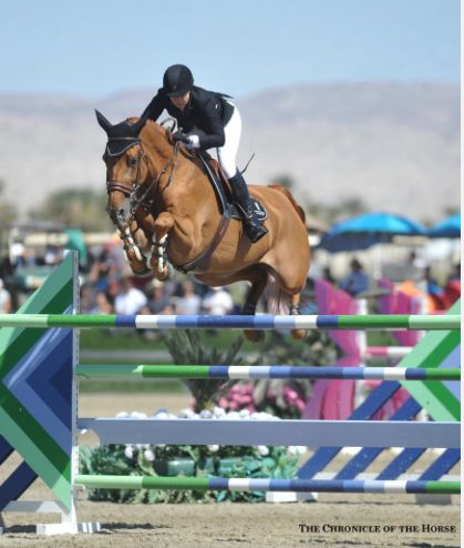 Kirsten Coe and Baronez impress at $1 million HITS Thermal