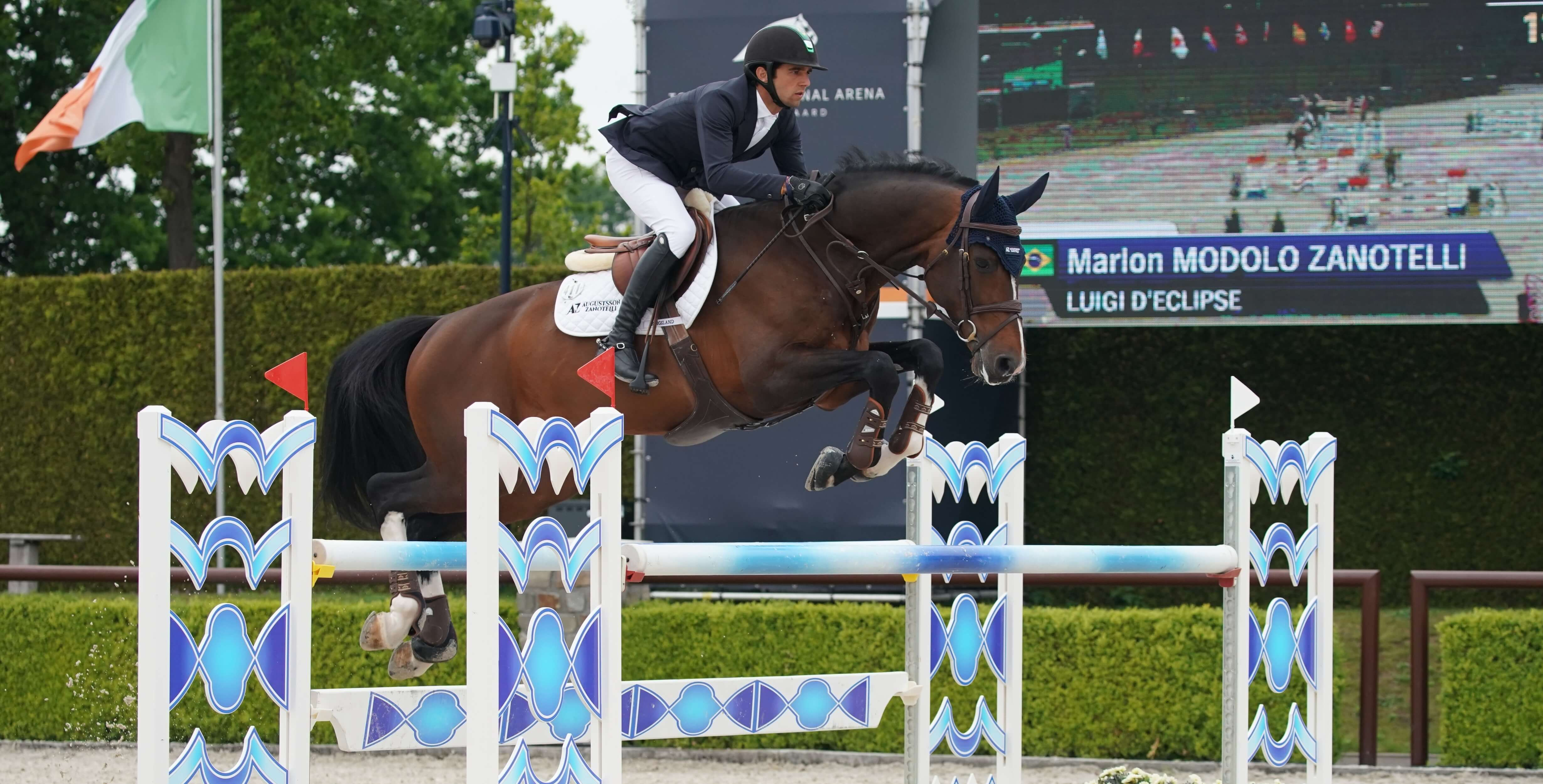 LUIGI D'ECLIPSE in top form during 3* Bonheiden