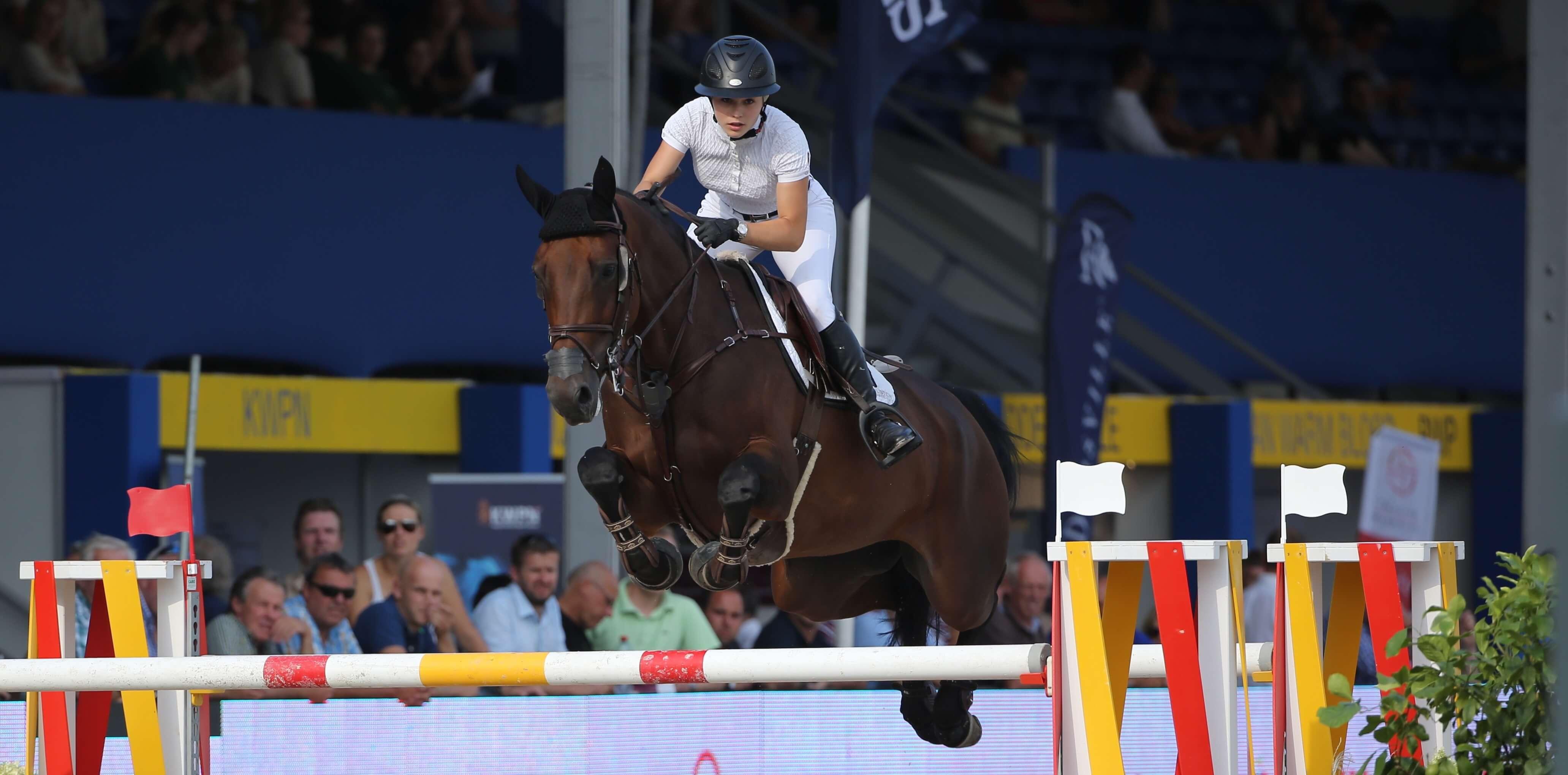 European Championship YR: Twelfth place for Chloé Vranken